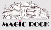 Magic Rock Logo Kunstfelsen